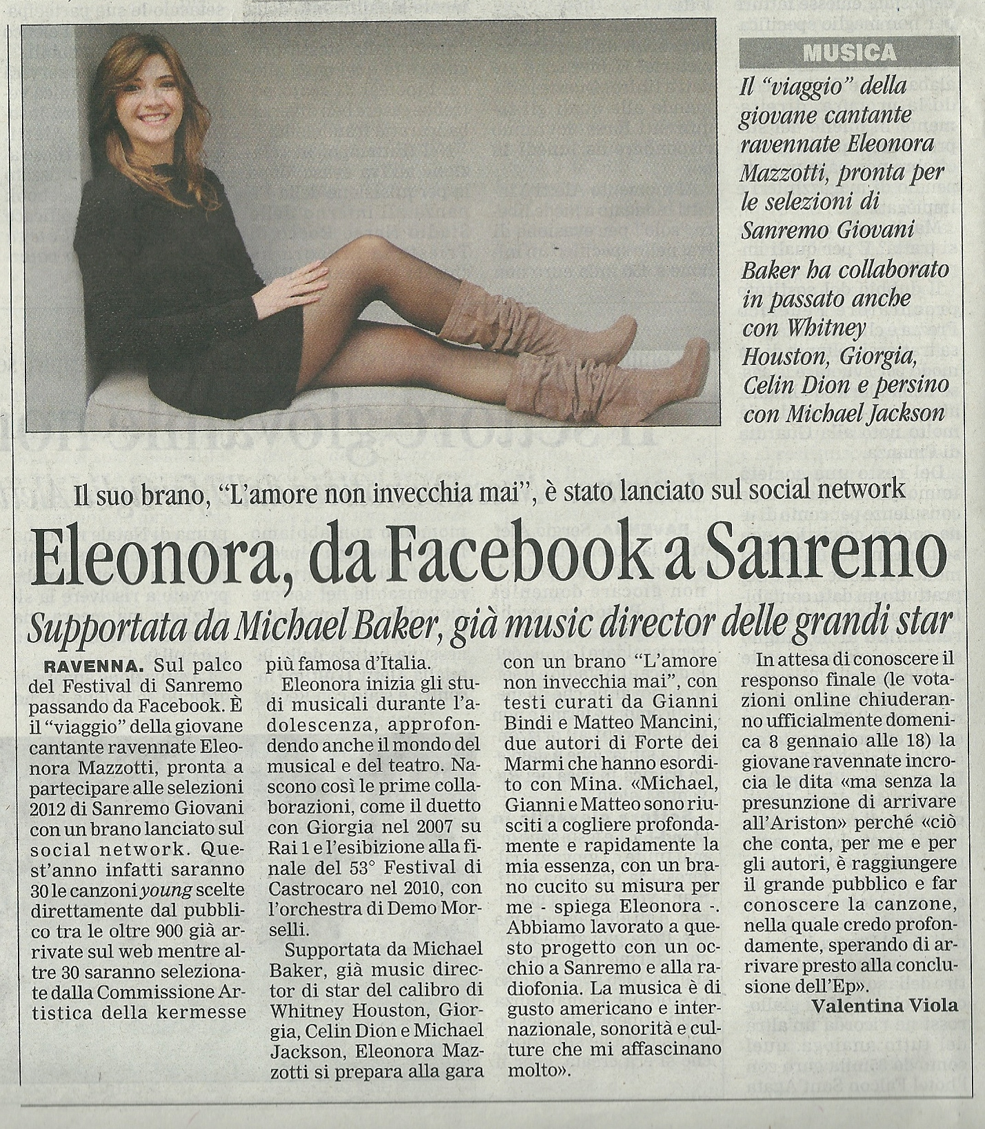 Corriere di Romagna, Ravenna, 5-1-2012