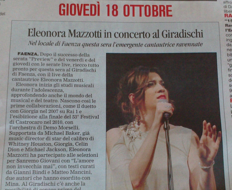 Corriere di Romagna 18-10-2012