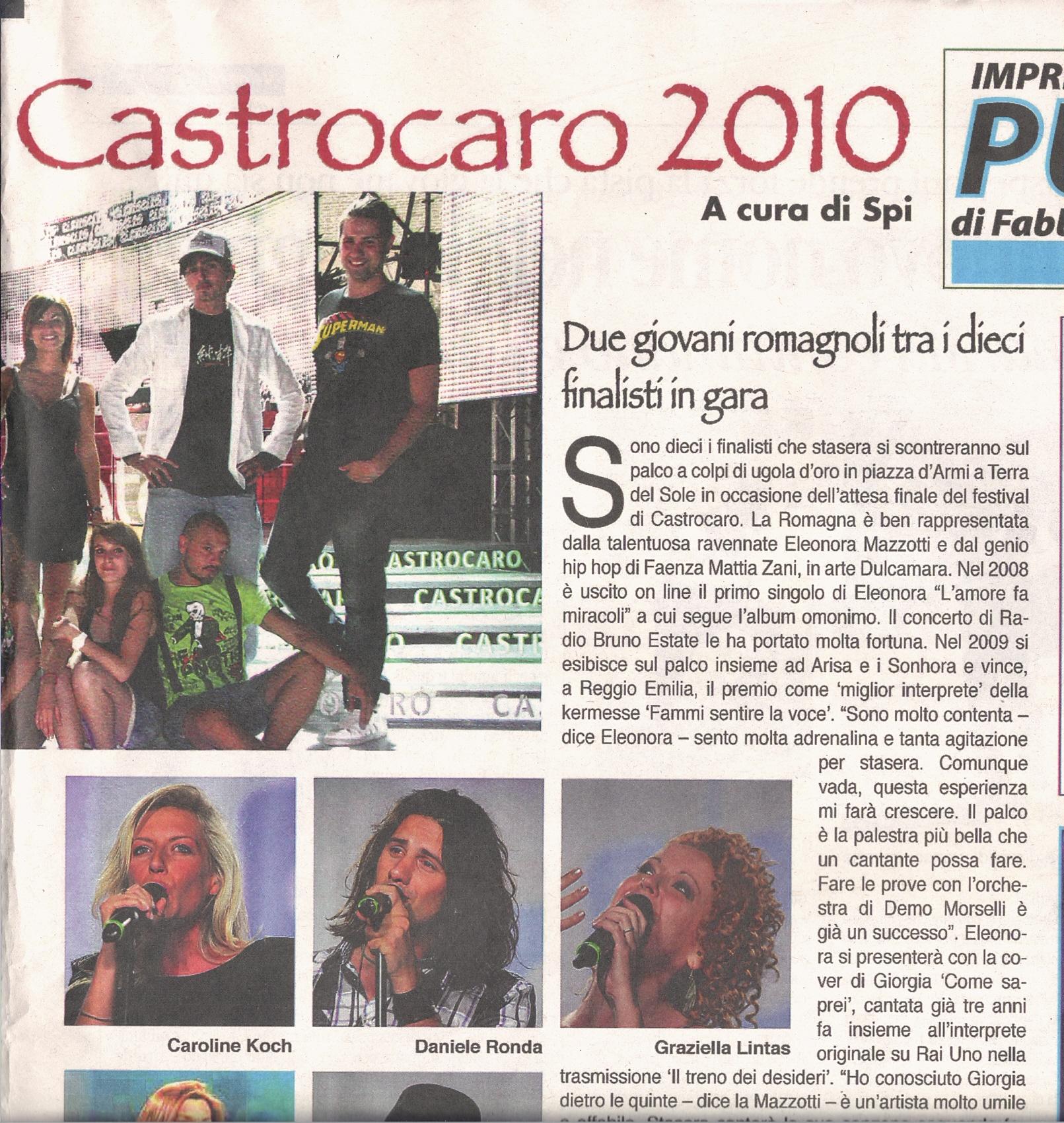 La Voce di Romagna, Fc, 16_07_2010 2