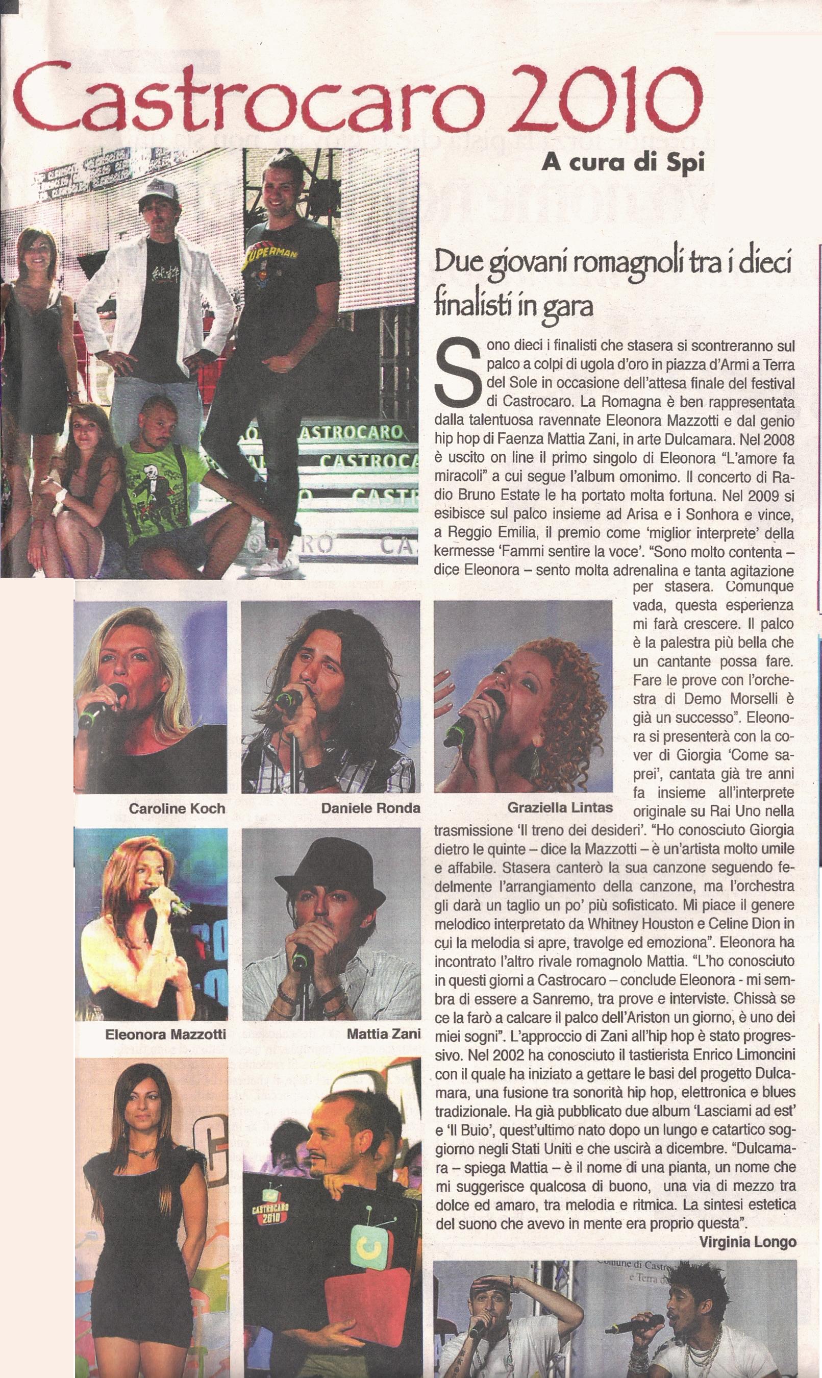 La Voce di Romagna, Fc, 16_07_2010 pag 2